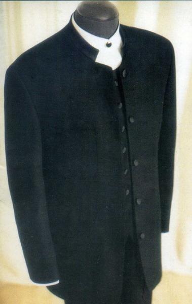 Mandarin collar tuxedo for Chinese theme Casino party
